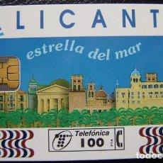 Tarjetas telefónicas de colección: ALICANTE DE 100 PTS - P 110 - USADA 1ª CALIDAD - A534. Lote 119037487