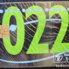 Tarjetas telefónicas de colección: SERVICIO 22 - 02/1995 - P 112 - USADA 1ª CALIDAD - A535. Lote 119037735