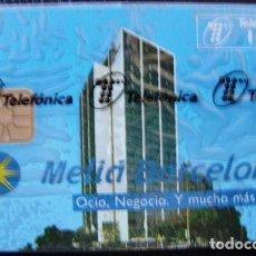 Tarjetas telefónicas de colección: HOTEL MELIA DE 100 PTS - P 114 - USADA 1ª CALIDAD - A536. Lote 119037963