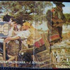 Tarjetas telefónicas de colección: SOROLLA - P 118 - USADA 1ª CALIDAD - A537. Lote 119058375