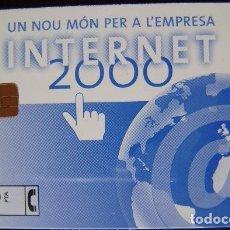 Tarjetas telefónicas de colección: INTERNET 2000 - TIRADA 2500 - P 422 - USADA 1ª CALIDAD - A647. Lote 119923055