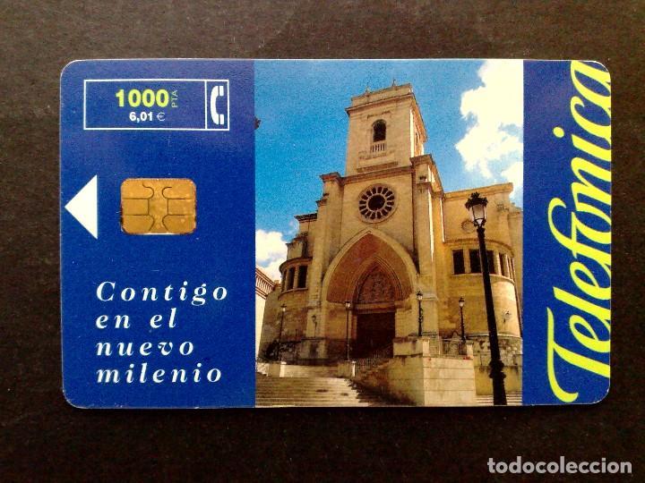 ESPAÑA:TARJETA TELEFONICA-PHONECARD-CONTIGO EN EL NUEVO MILENIO-VINTAGE (Coleccionismo - Tarjetas Telefónicas)