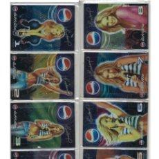 Tarjetas telefónicas de colección: COLECCIÓN 8 TARJETAS TELEFÓNICAS CARD NUMBER CANTANTES TAILANDIA (ENFUNDADAS).. Lote 124165939