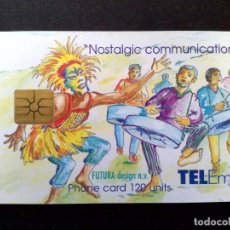 Tarjetas telefónicas de colección: TARJETA TELEFONICA-CARNIVAL-ST.MAARTEN (US$17) TELEM-VINTAGE. Lote 124598499
