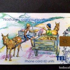 Tarjetas telefónicas de colección: TARJETA TELEFONICA-DONKEY-ST.MAARTEN (US$10) TELEM-VINTAGE. Lote 124598587