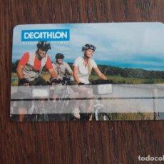 Tarjetas telefónicas de colección: TARJETA DE SOCIO DECATHLON.. Lote 126757235