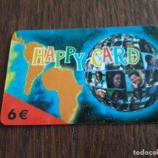 Tarjetas telefónicas de colección: TARJETA HAPPY CARD 6 EUROS.. Lote 127244867