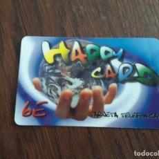 Tarjetas telefónicas de colección: TARJETA TELEFÓNICA HAPPY CARD 6 EUROS.. Lote 127462527