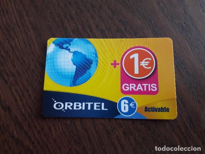 TARJETA ORBITEL 5 EUROS MÁS 1 EURO. (Coleccionismo - Tarjetas Telefónicas)