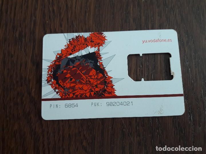Tarjetas telefónicas de colección: tarjeta sim para teléfono vodafone. - Foto 2 - 127973323