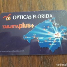 Tarjetas telefónicas de colección: TARJETA OPTICAS FLORIDA PLUS+, REAL MALLORCA.. Lote 128123155