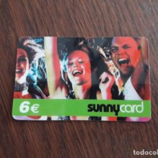 Tarjetas telefónicas de colección: TARJETA TELEFÓNICA SUNNY CARD 6 EUROS.. Lote 128301639
