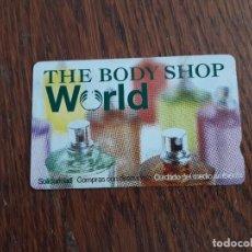 Tarjetas telefónicas de colección: TARJETA THE BODY SHOP WORLD.. Lote 128630419