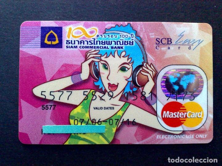 TARJETA MASTERCARD-EASY CARD-SIAM COMERCIAL BANK (SCB) EDICIÓN LIMITADA (DESCRIPCIÓN) (Coleccionismo - Tarjetas Telefónicas)