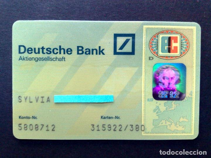 Tarjeta Eurocard Deutsche Bank Aktiengesellscha Sold Through