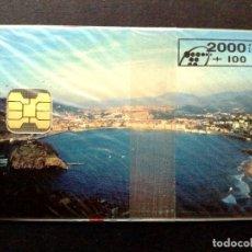 Tarjetas telefónicas de colección: TARJETA TELEFONICA:P-092: SAIO TEGI (2000+100PTA.) TIRADA 5.500 EX.,NUEVA CON PRECINTO.. Lote 130480654