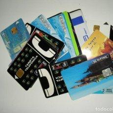 Tarjetas telefónicas de colección: LOTE 35 TARJETAS DE TELEFONO USADAS FOTOS DE TODAS LAS TARJETAS. Lote 130535978