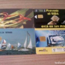 Tarjetas telefónicas de colección: LOTE DE TARJETAS DE TELEFONICAS. Lote 130567642