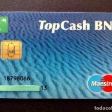 Tarjetas telefónicas de colección: TARJETA MAESTRO-NUMERADA-TOP CASH-B.N.L.(DESCRIPCIÓN). Lote 130825312