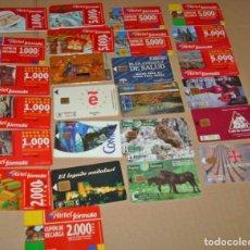 Tarjetas telefónicas de colección: TARJETAS TELEFONICAS ANTIGUAS.BONITO LOTE DE 36 TARJETAS- VER RELACIÓN Y FOTOS. Lote 132287322
