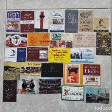 Tarjetas telefónicas de colección: LOTE DE 25 TARJETAS DE VISITA DE BARES, RESTAURANTES.... Lote 136918582