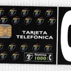 Tarjetas telefónicas de colección: TARJETA TELEFÓNICA. LOGO TELEFÓNICA. 1000 PTA. Lote 137746758