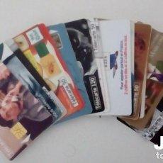 Tarjetas telefónicas de colección: LOTE DE 20 TARJETAS TELEFONICAS DIFERENTES. Lote 143991182