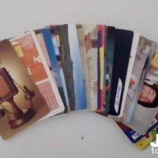 Tarjetas telefónicas de colección: LOTE DE 20 TARJETAS TELEFONICAS DIFERENTES. Lote 143991230
