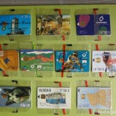 Tarjetas telefónicas de colección: LOTE DE 10 TARJETAS TELEFÓNICAS NUEVAS, SIN USAR Y PRECINTADAS. Lote 146990782