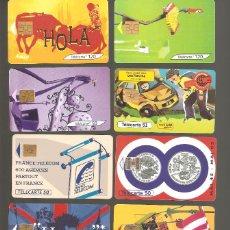 Tarjetas telefónicas de colección: 10 TARJETAS DE FRANCIA DIFERENTES LOTE 1. Lote 146990786