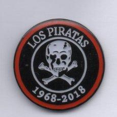 Tarjetas telefónicas de colección: PIN-LOS PIRATAS -CUADRILLA DE FIESTAS DE BASAURI. Lote 147178258