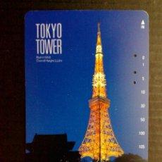 Tarjetas telefónicas de colección: TARJETA (NTT) TOKYO TOWER DE JAPON. Lote 147523938