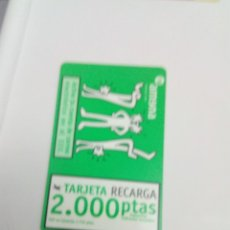 Tarjetas telefónicas de colección: TARJETA TELEFONO. AMENA. TARJETA RECARGA. C7CR. Lote 151486314