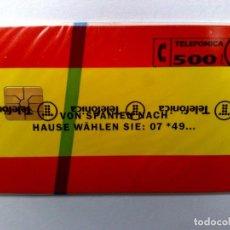 Tarjetas telefónicas de colección: ESPAÑA:P-015:TARJETA TELEFONICA (500 PTA) FREUNDIN.,T.3.000 EX.,AÑO 1993,NUEVA-DESCRIPCIÓN). Lote 151964730