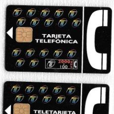 Tarjetas telefónicas de colección: TARJETA TELEFONICA. 01/95 Y 05/95. 2000+100 Y 1000 PTA. Lote 152204166