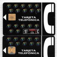 Tarjetas telefónicas de colección: TARJETA TELEFONICA. 01/95 Y 05/95. 1000 Y 2000+100 PTA. Lote 152204510
