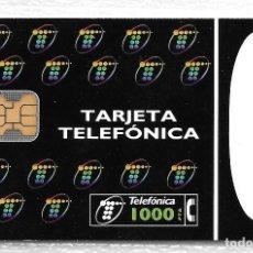Tarjetas telefónicas de colección: TARJETA TELEFONICA. 01/95. 1000 PTA. Lote 152204830