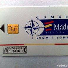 Cartões de telefone de coleção: TARJETA TELEFONICA:P-272: O.T.A.N., (500 PTA) TIRADA 8.500 EJEMPLARES (06/97). Lote 199121472