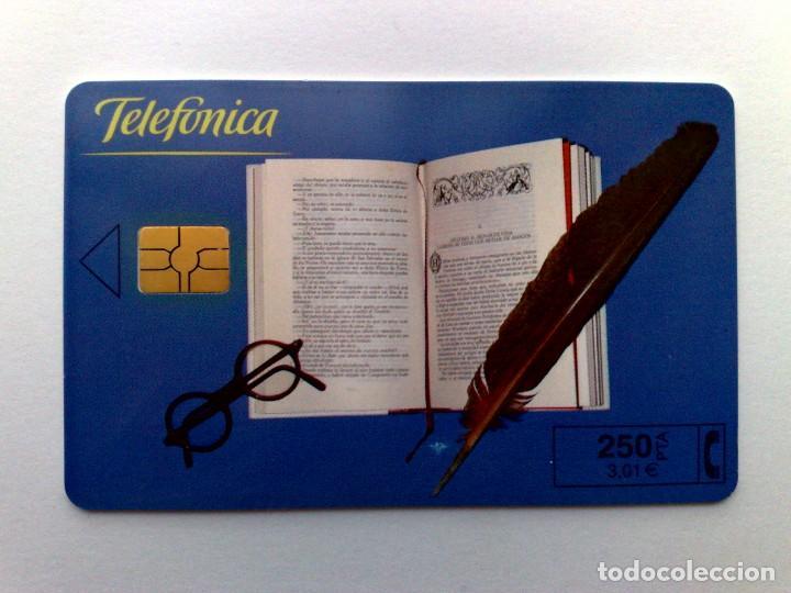 ESPAÑA:P-433:TARJETA TELEFONICA,FERIA DEL LIBRO (250 PTA) T.4.100 EJEMPLARES, 05/2000 (Coleccionismo - Tarjetas Telefónicas)