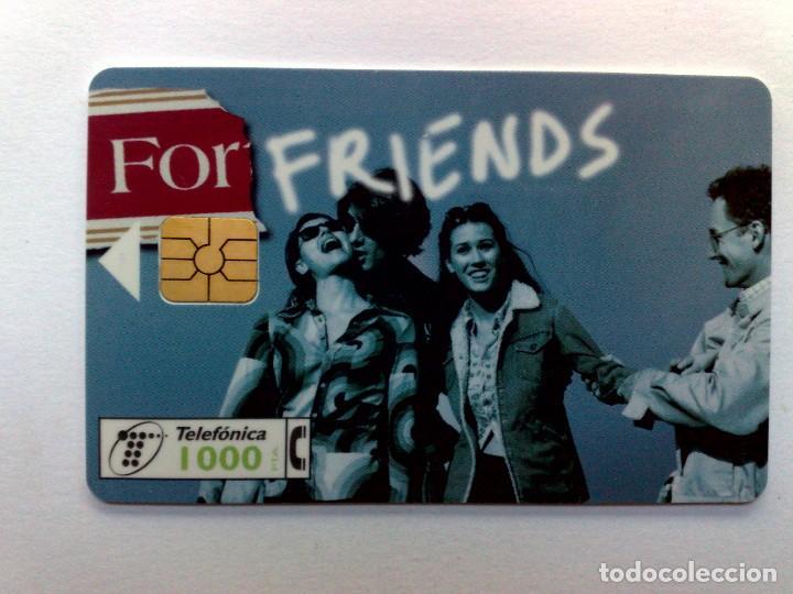 ESPAÑA:CP-115:TARJETA TELEFONICA,FORTUNA FRIENDS (1000 PTA) T.48.500 EJEMPLARES, 12/97 (Coleccionismo - Tarjetas Telefónicas)
