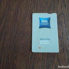 Tarjetas telefónicas de colección: TARJETA DE PUBLICIDAD IBIS BUDGET.. Lote 161716822