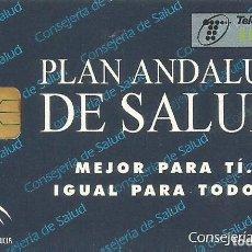 Tarjetas telefónicas de colección: TARJETA TELEFÓNICA. PLAN ANDALUZ DE SALUD. USADA. Lote 166851250