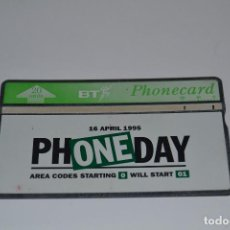 Tarjetas telefónicas de colección: TARJETA TELEFONICA BT. Lote 170857590