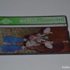Tarjetas telefónicas de colección: TARJETA TELEFONICA BT. Lote 170857695