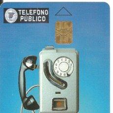 Tarjetas telefónicas de colección: TARJETA TELEFÓNICA. TELÉFONO DE PESETAS. USADA. Lote 171055449
