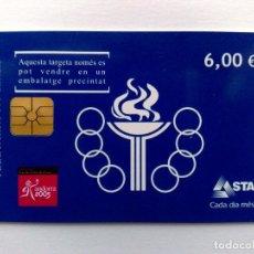 Tarjetas telefónicas de colección: TARJETA TELEFONICA DE ANDORRA,2005 XI JOCS PETITS ESTATS D'EUROPA (6€) 05/05. Lote 173864929