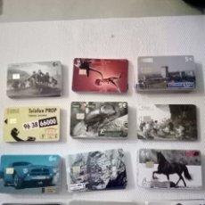 Cartões de telefone de coleção: LOTE 100 TARJETAS TELEFONICAS DIFERENTES. Lote 212175808