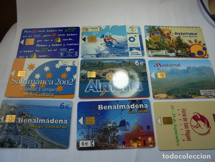 Tarjetas telefónicas de colección: magnificas 105 tarjetas telefonicas - Foto 8 - 177485948
