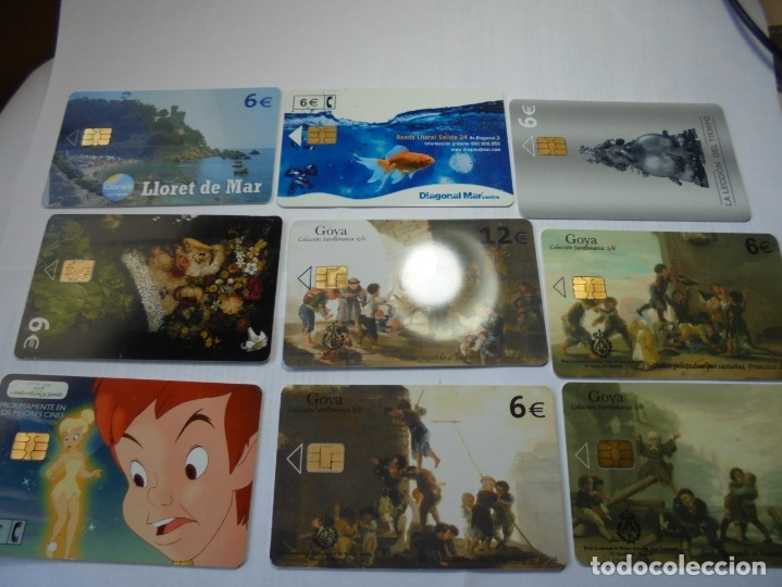 Tarjetas telefónicas de colección: magnificas 105 tarjetas telefonicas - Foto 9 - 177485948