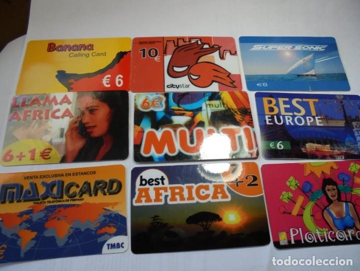 Tarjetas telefónicas de colección: magnificas 105 tarjetas telefonicas - Foto 11 - 177485948